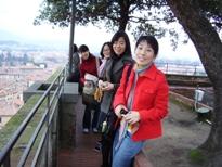 gita a lucca sulla torre