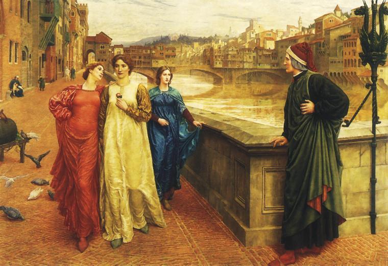 Dante e Baeatrice