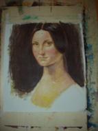 pittura della studentessa Taeko