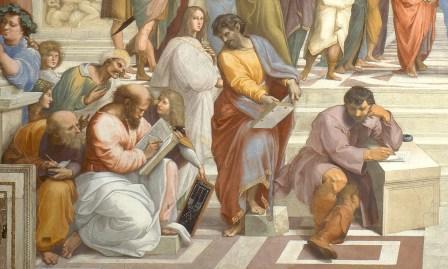 Raffaello-Scuola di Atene- Particolare
