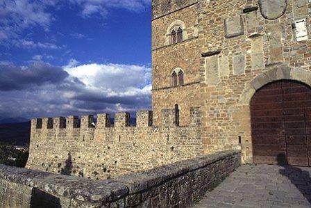 the Castle of Poppi 1