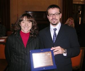 Serena Bedini e Lorenzo Capanni