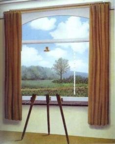 La condizione umana-Magritte