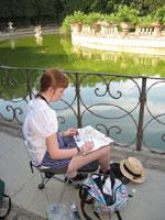 sketchbook in Florence