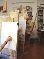 Art studio in Florence