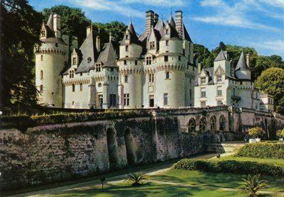 castello d'ussé nella valle della Loira