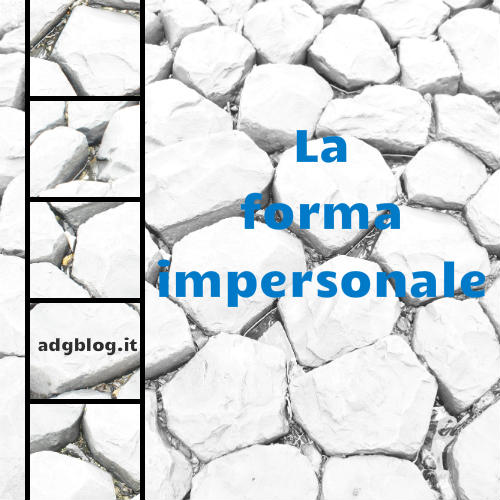 forma impersonale 1