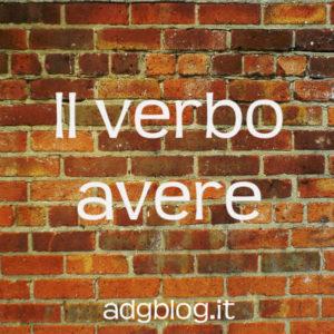Il verbo avere