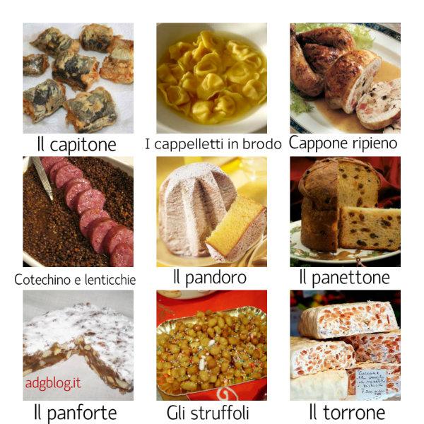 Dolci Italiani Di Natale.Piatti E Dolci Italiani Di Natale E Capodanno Adgblog