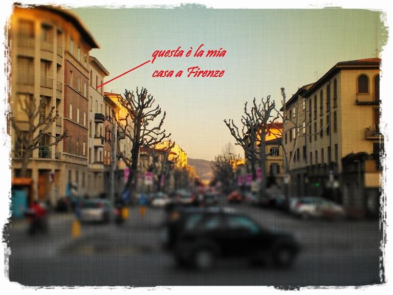 la mia casa a Firenze