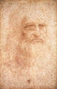 Leonardo da Vinci - Sanguine Self Portrait