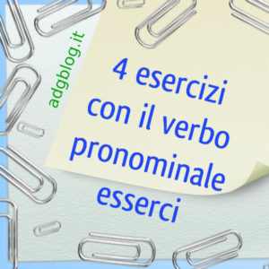 esserci verbo pronominale
