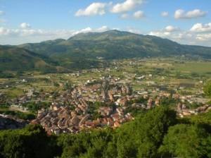 Vista panoramica della città