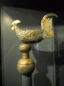 Il Gallo di Ramperto, il più antico galletto segnavento del mondo