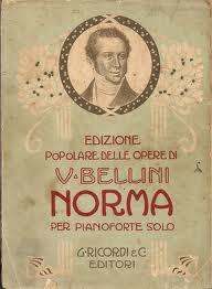 La Norma di Vincenzo Bellini, famosa opera lirica