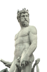 Particolare della Fontana del Nettuno - Piazza della Signoria - Firenze
