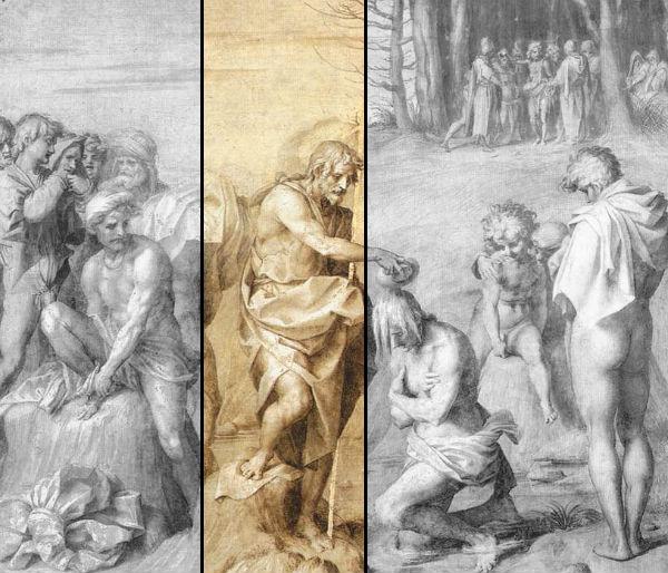 Battesimo delle genti - Andrea del Sarto