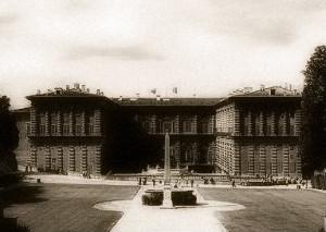 Palazzo Pitti dal Giardino di Boboli