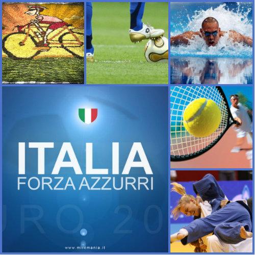 L'italiano con lo sport