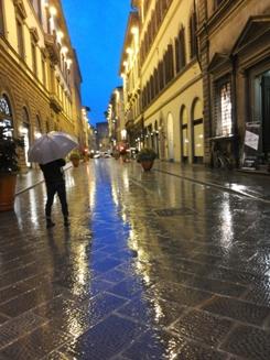 come pioveva...