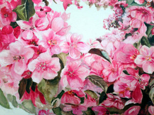 Flowers - Oil painting