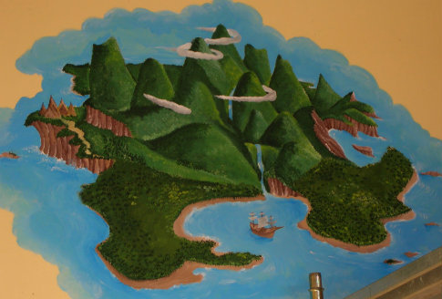 L'isola che non c'è nel film di Walt Disney
