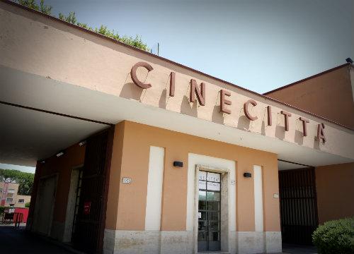 Cinecittà_-_Entrance