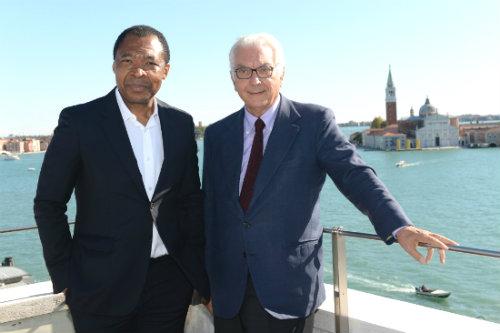 Okwui Enwezor e Paolo Baratta