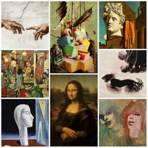 collage pittura