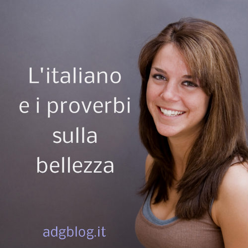 bellezza e proverbi