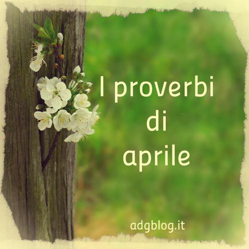 proverbi di aprile