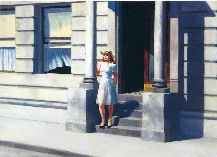 Edward Hopper - Summertime (1943)