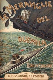 """Italiano con la letteratura: """"Le meraviglie del duemila"""" di Emilio Salgari"""