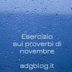 proverbi novembre