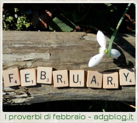 I proverbi di febbraio