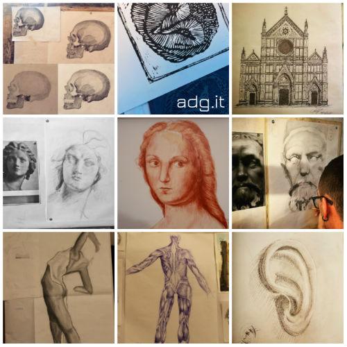 collage giornata mondiale disegno