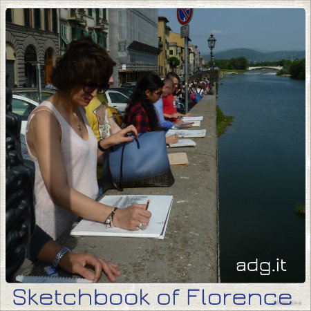 workshop of sketchbook in florence