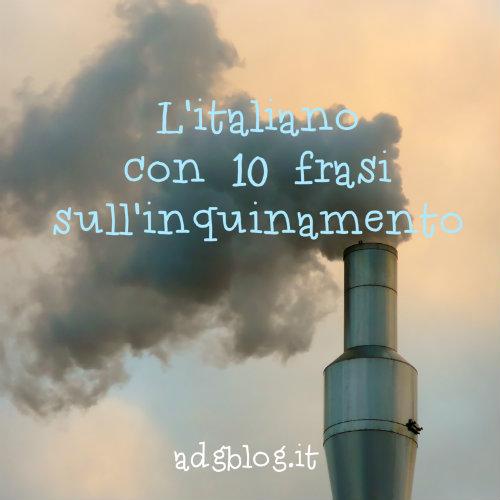 10 frasi sull'inquinamento