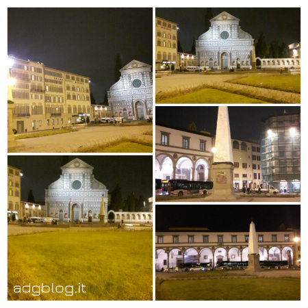 piazza smn by night