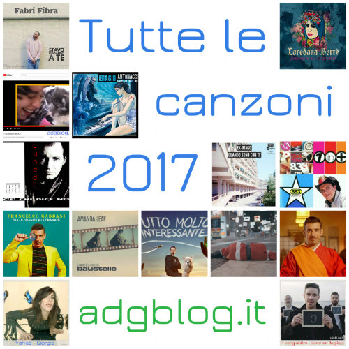 Tutte le canzoni di adgblog