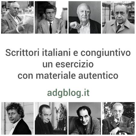 Scrittori italiani e congiuntivo