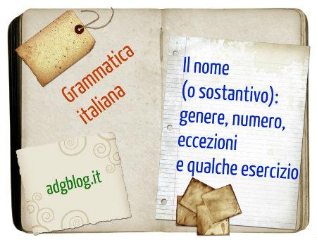 Sostantivi italiani regole