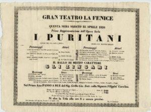 I puritani di Vincenzo Bellini