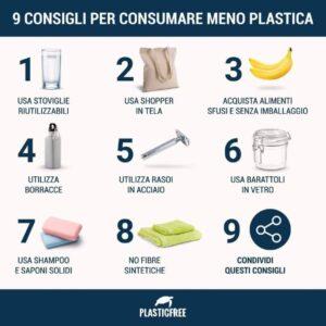 Infografica sulla plastica