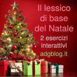 lessico di base del Natale