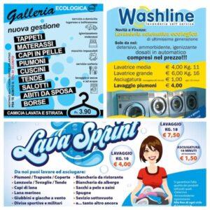 volantini lavanderie