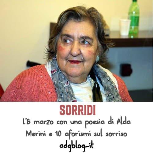 Sorridi di Alda Merini