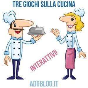 3 giochi interattivi sulla cucina