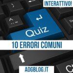 10 errori comuni in italiano L2