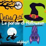 parole di halloween